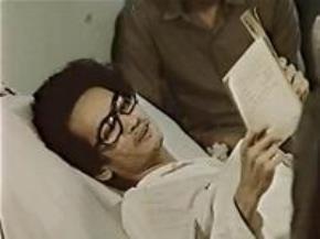 Đồng Xuân Thuyết trên giường bệnh ảnh: T.L