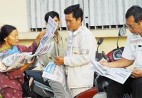 Quyền miễn trừ cho nhà báo là khái niệm chưa được quy định trong pháp luật nước ta khi thông tin nhằm phục vụ vụ lợi ích công. Ảnh: HTD