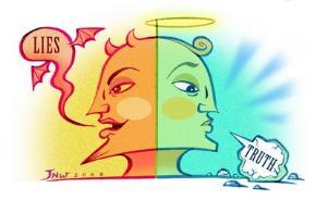 Đối thoại giữa Nói Dối và Nói Thật