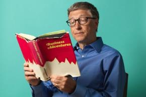 Tỷ phú Bill Gates từ bé say mê đọc sách
