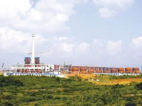 Nhà máy Chế biến bauxite Tân Rai đang được xây dựng ở Tây Nguyên - Ảnh: Lê Quang Nhật.