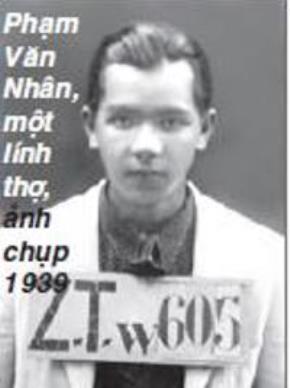 Ảnh được tác giả Pierre Daum cung cấp và thuộc bản quyền của ông Phạm Văn Nhân, cựu thông ngôn.