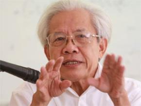 Giáo sư Hồ Ngọc Đại . Ảnh: Nguyễn Đình Toán