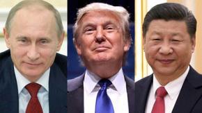 """Bài 3: Ba nhà chiến lược Putin, Tập Cận Bình và D. Trump tụ họp để đánh """"ván cờ"""" chiến lược mà thế giới trước đây chưa có"""