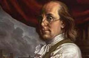 Chính trị gia Hoa Kỳ Benjamin Franklin  (1706 - 1790)
