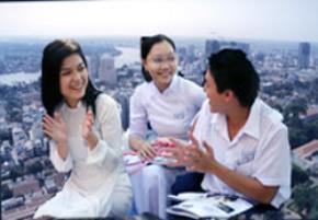 Những chủ nhân tương lai của TP.HCM, thành phố năng động nhất nước - Ảnh: N.Hải - Đ.N.Thạch
