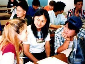 Trường lớp châu Á