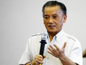 Nguyên Bộ trưởng Bộ Tư pháp Nguyễn Đình Lộc.