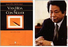 Bìa cuốn sách Văn hoá & Con người của ông Nguyễn Trần Bạt