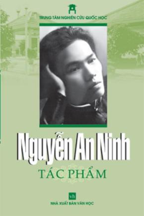Nguyễn An Ninh – một nhà báo thần tượng