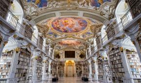 Thư viện châu Âu ngày xưa